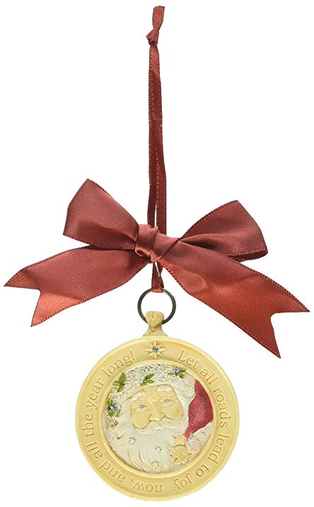SANTA COMPASS  ORNAMENT