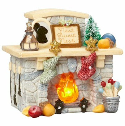 MOUSE FIREPLACE - LED