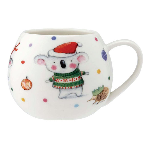 BARNEY GUMNUT AND FRIENDS CHRISTMAS MUG