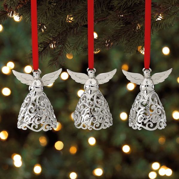 Angels, Set of 3 Ornaments
