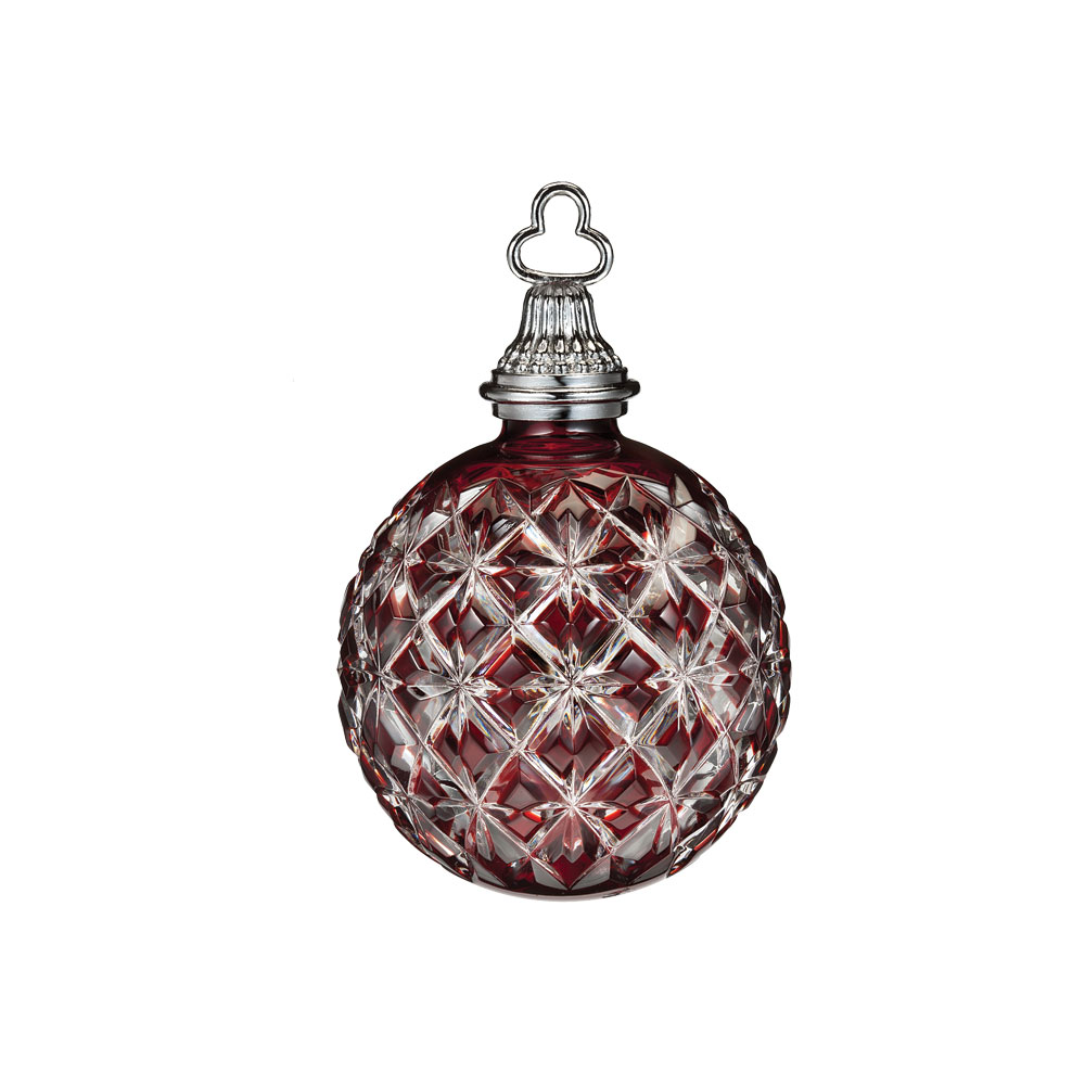 Annual Cased Ornament Ruby