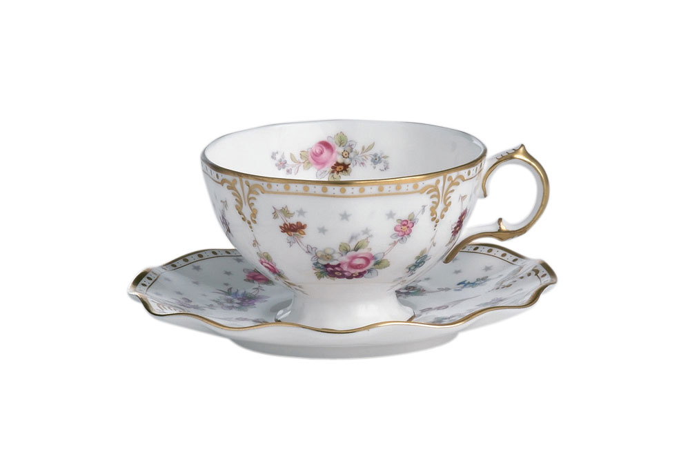 Royal Antoinette Cup & Saucer