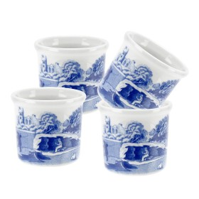 BLUE ITALIAN EGG CUP SET OF 4