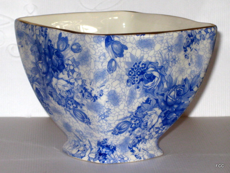 Blue Welbeck Sugar Bowl