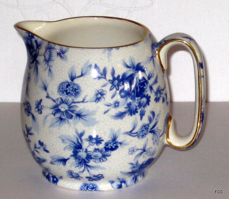 Blue Cottage Creamer