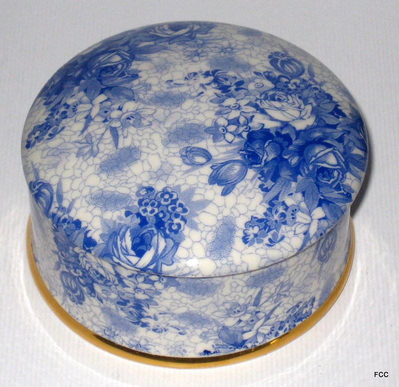 Blue Welbeck Trinket Box