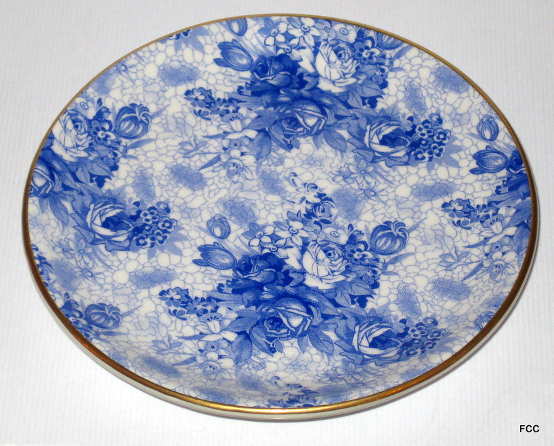 Blue Welbeck Coaster Plate