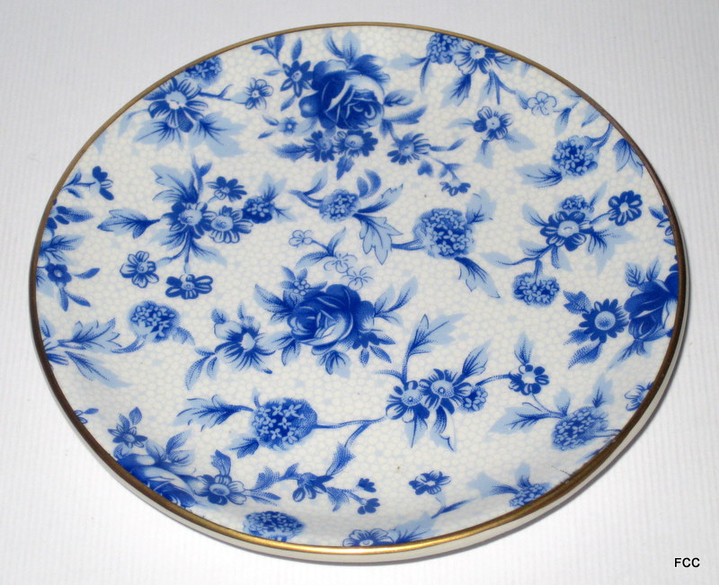 Blue Cottage Coaster Plate