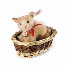 Ginny Kitten in Basket