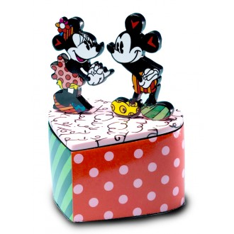 Mickey and Minnie Mouse Trinket Box