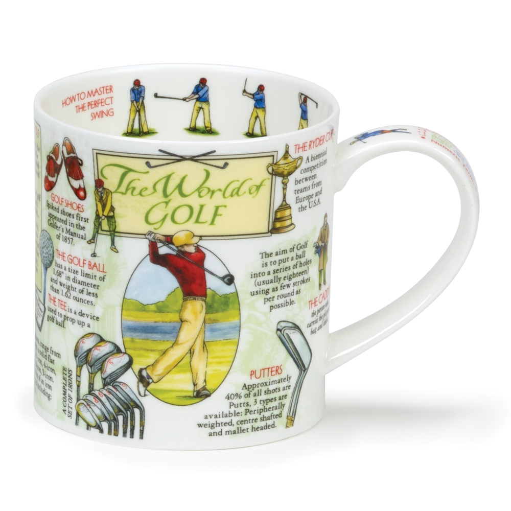 MUG  - WORLD OF GOLF
