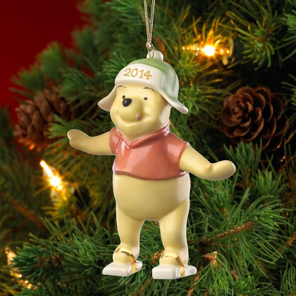 2014 Playful Pooh Ornament
