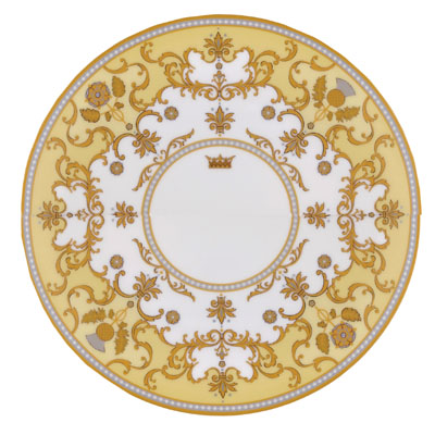 Royal Worcester Coupe Plate