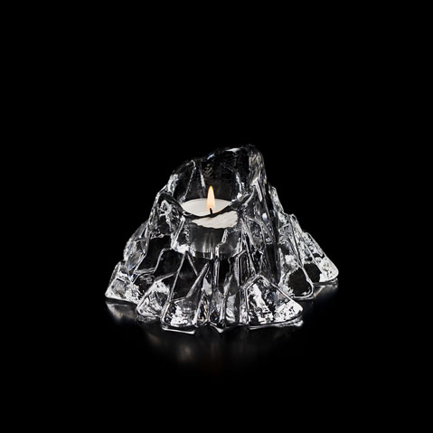 Volcano Votive Clear