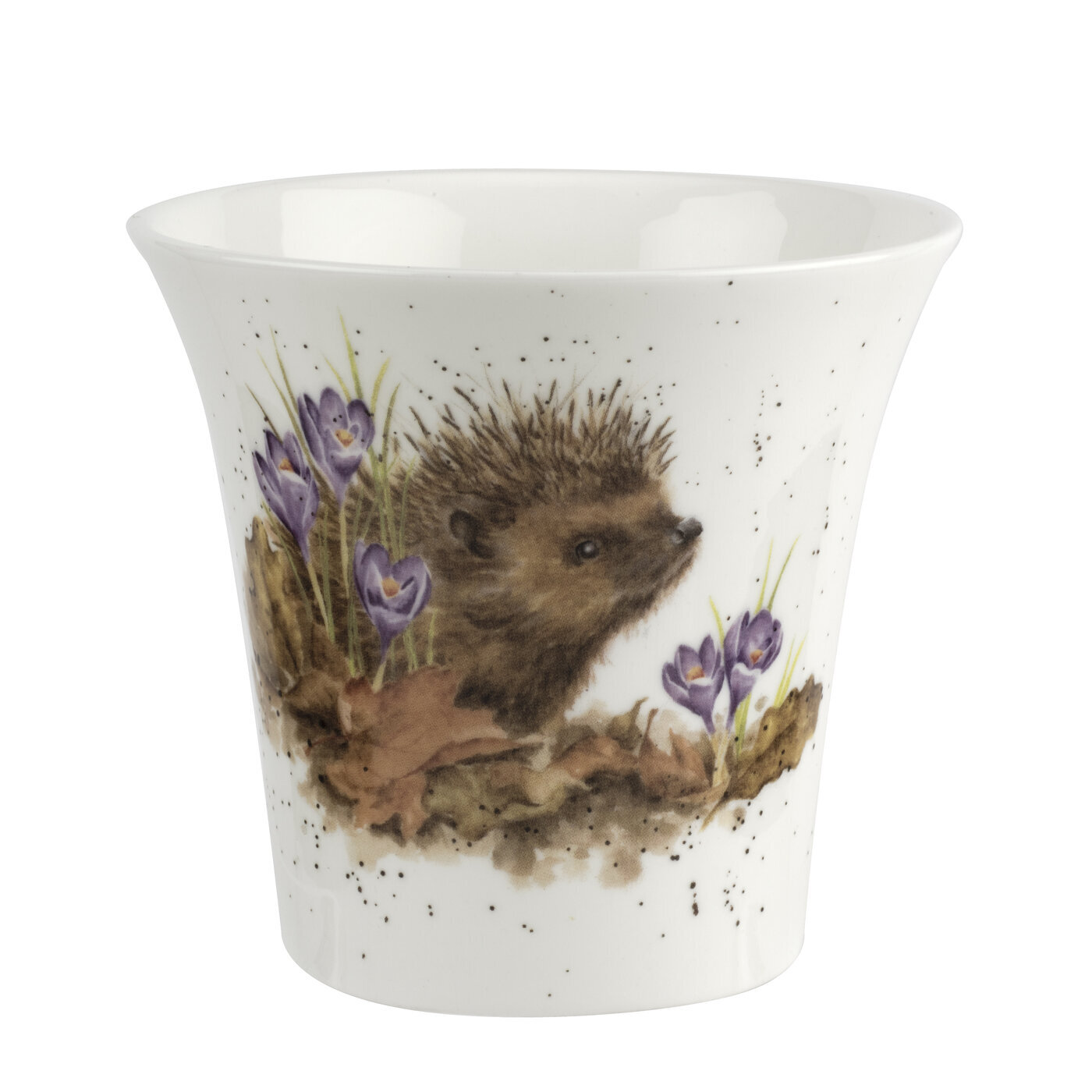FLOWER POT  -  HEDGEHOG