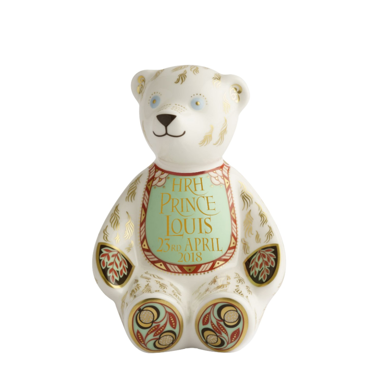 ROYAL BIRTH BIB BEAR