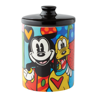 MICKEY AND PLUTO CANISTER SMALL