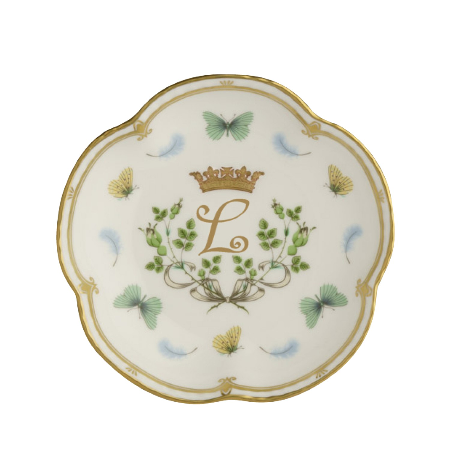 ROYAL BIRTH FIVE PETAL TRAY