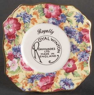 Royal Winton Bone China Made In England 1995
