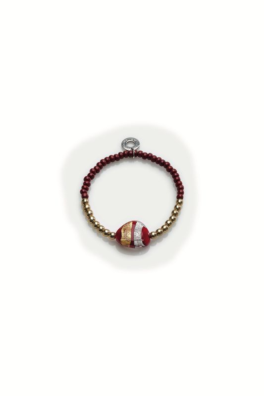 MORETTA BRACELET RED/GOLD