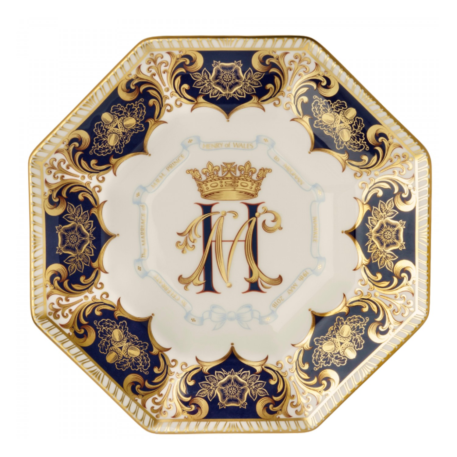 ROYAL WEDDING OCTAGONAL PLATE
