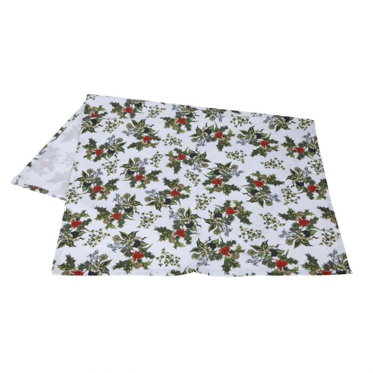 HOLLY AND IVY TEATOWEL