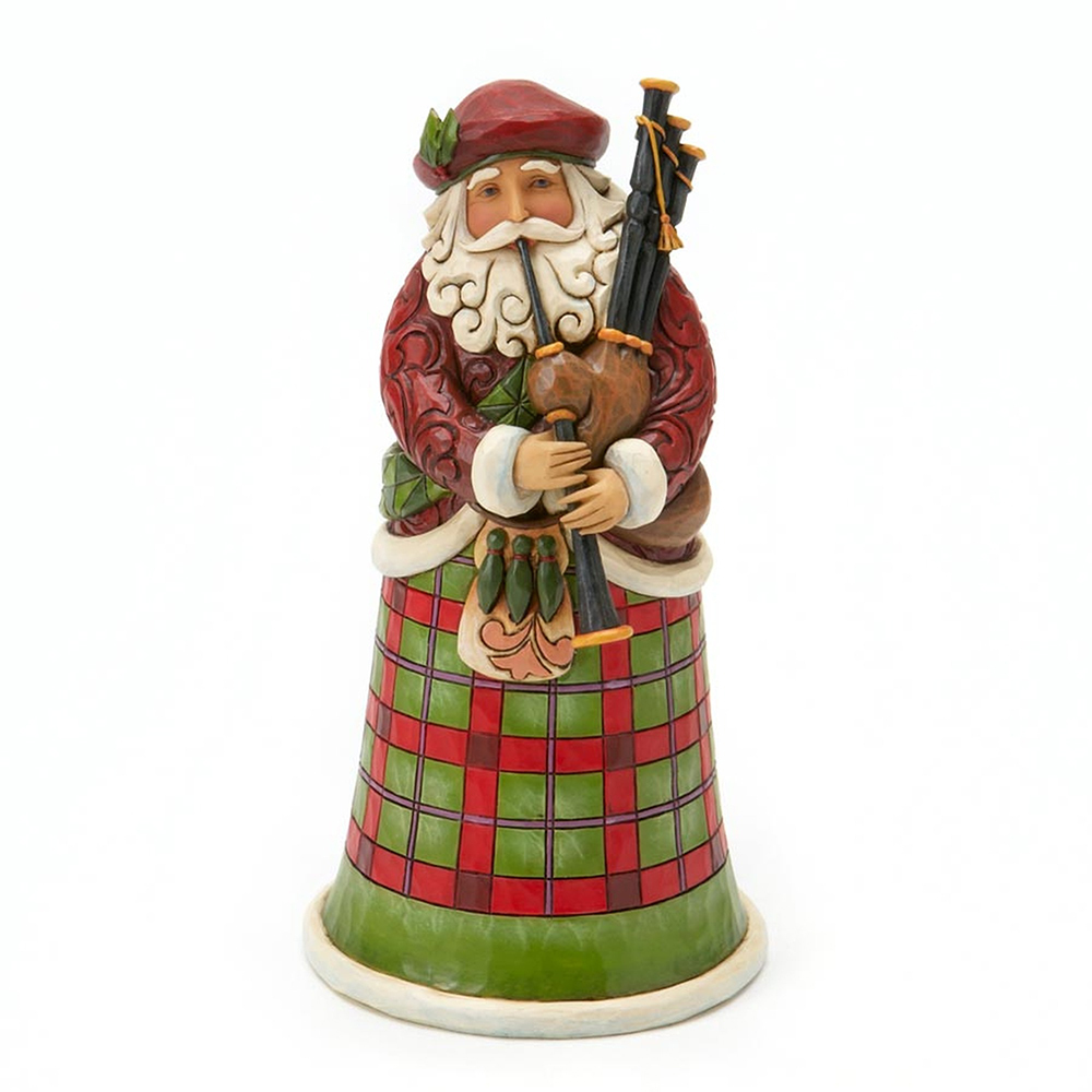 SANTAS OF THE WORLD  -  SCOTTISH