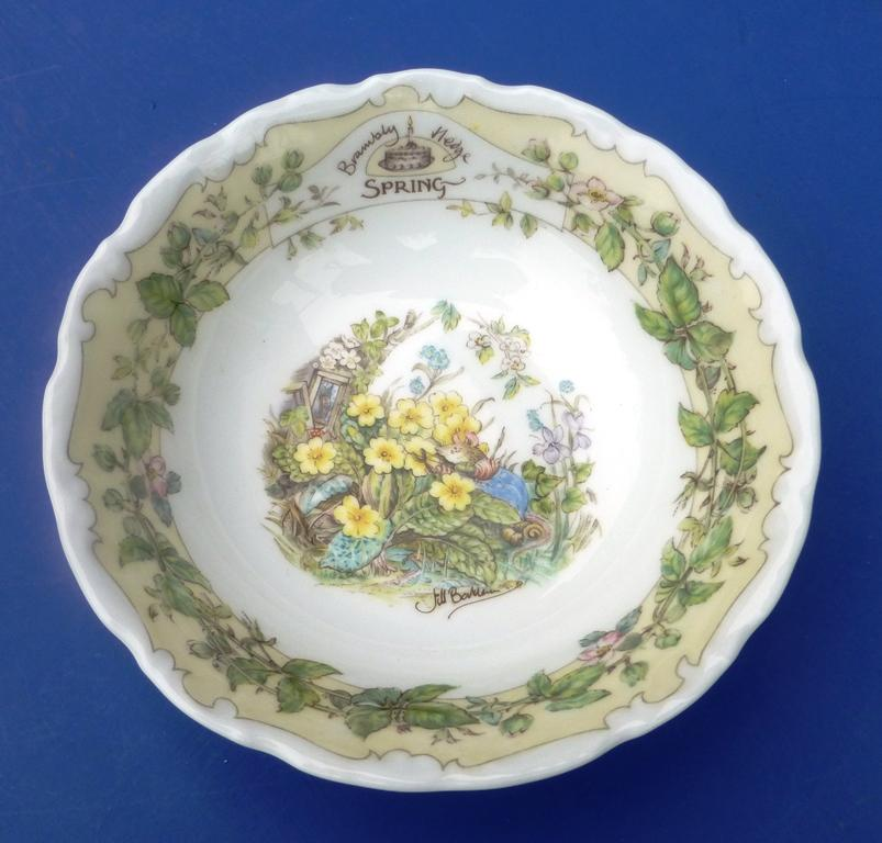 FRUIT SAUCER/BOWL  - SPRING
