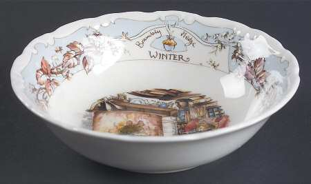 FRUIT SAUCER/BOWL  - WINTER