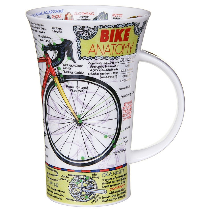 MUG - BIKE ANATOMY