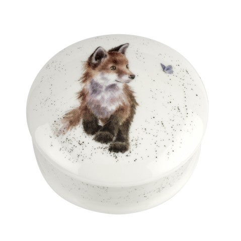 LIDDED BOX  - FOX