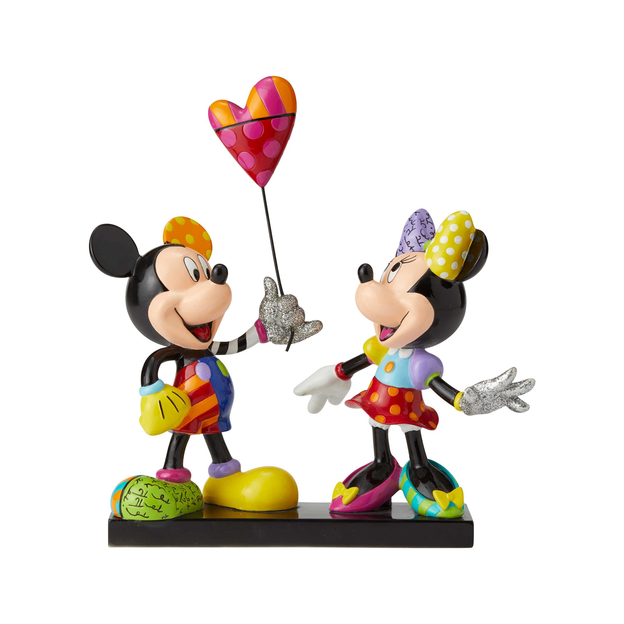 MICKEY AND MINNIE WITH BALLOON